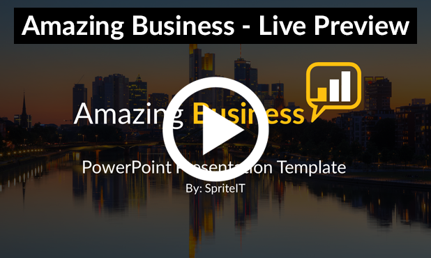 Amazing Business PowerPoint Presentation Template