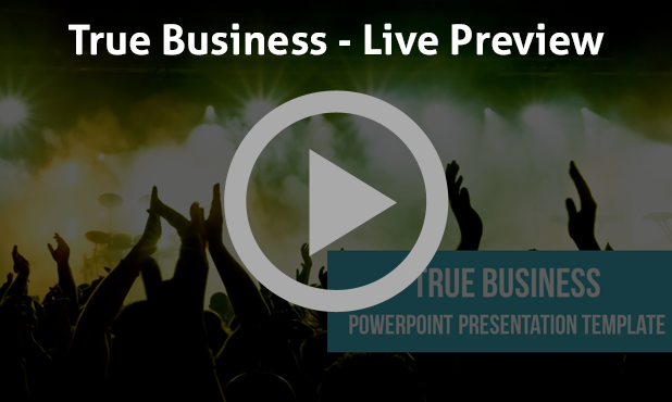 True Business PowerPoint Presentation Template