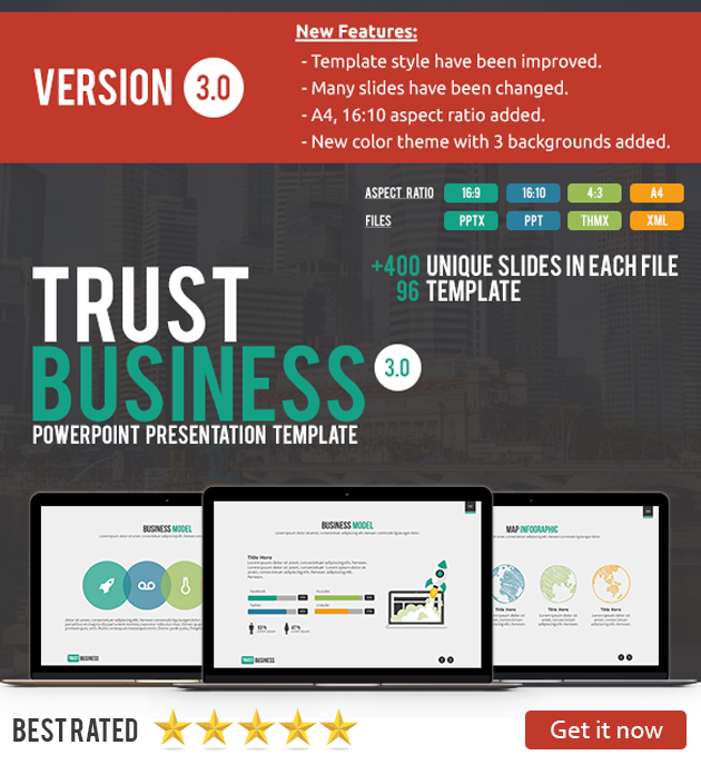 Business Power - PowerPoint Presentation Template