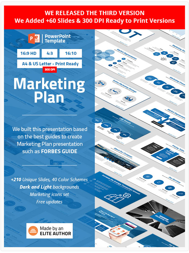 Best Marketing Plan PowerPoint Presentation Template 2020
